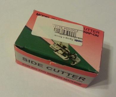 Лапка куттерная - оверлок с обрезкой  для швейной машины
