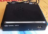 Приставка ORIEL 303, телевизионная, для приема цифрового телевидения ( ресивер)