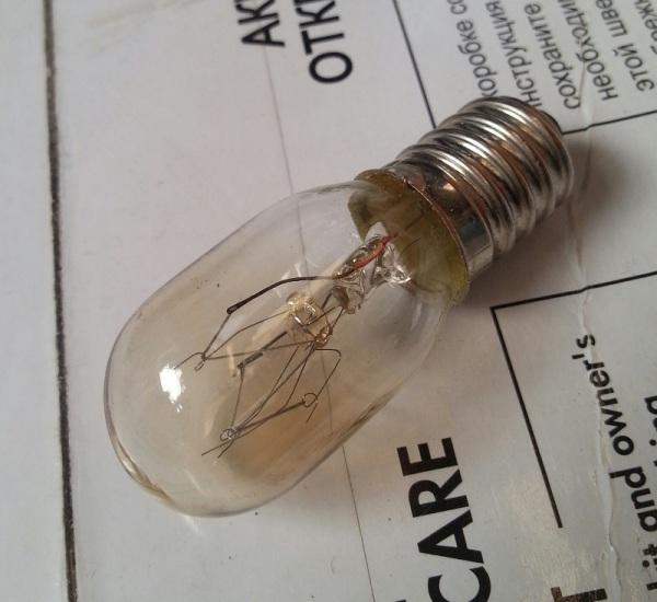 Лампочка для подсветки в швейной машине ASTRALUX