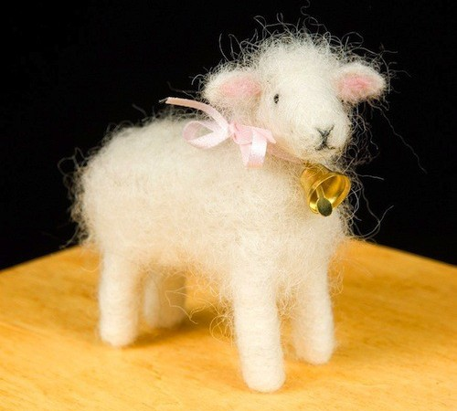 сваляная овечка