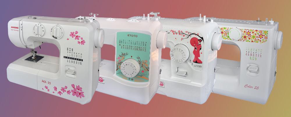 Электромеханические швейные машины