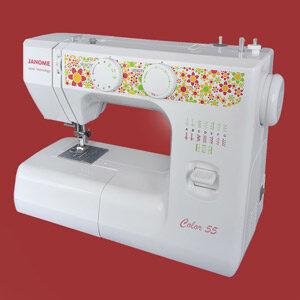 Janome Color 55 швейная машинка