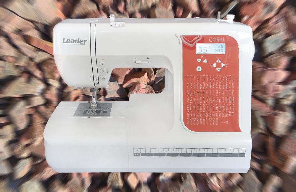 компьютерная швейная машина Leader Coral