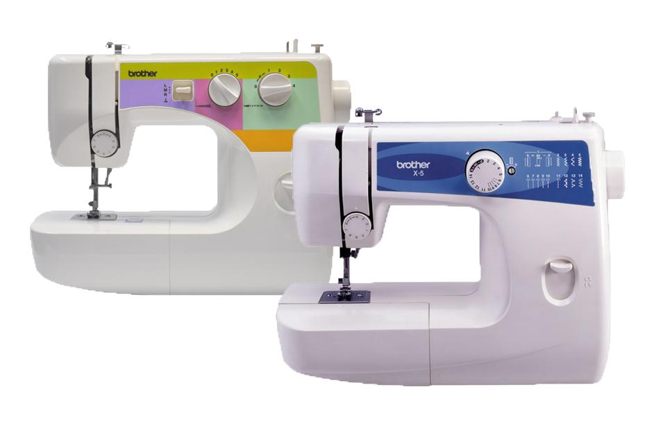 швейные машинки от 2 до15 строчек