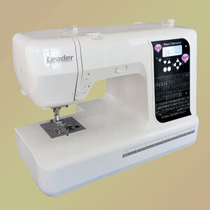 машинка швейная Лидер Блек Диамонд компьютеризированная