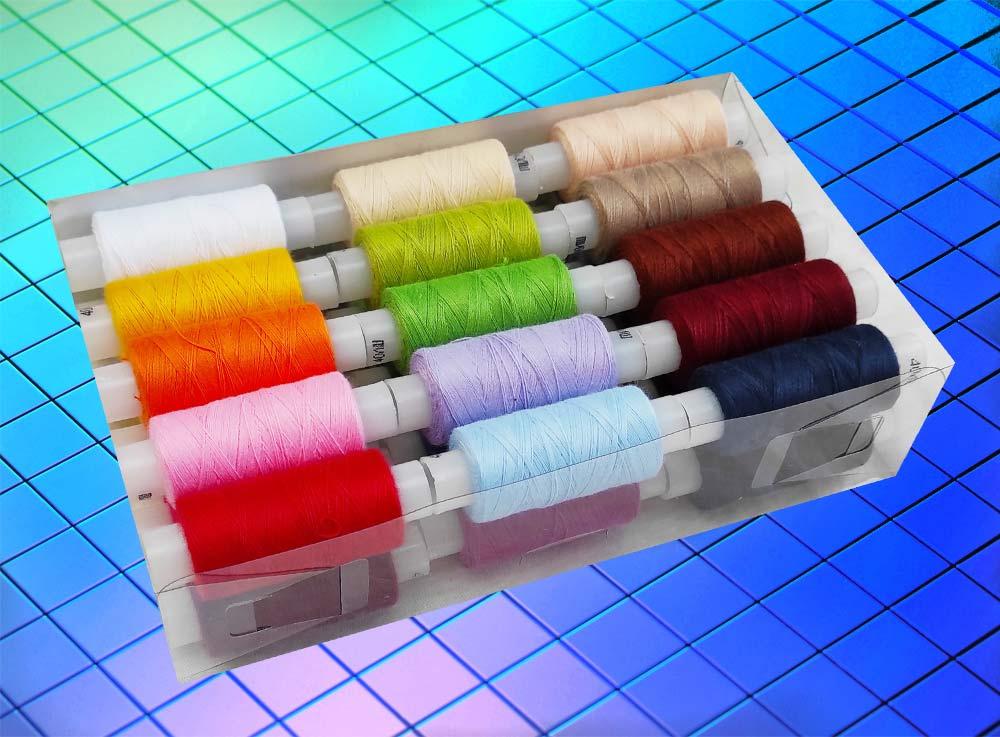 нитки швейные полиэстер