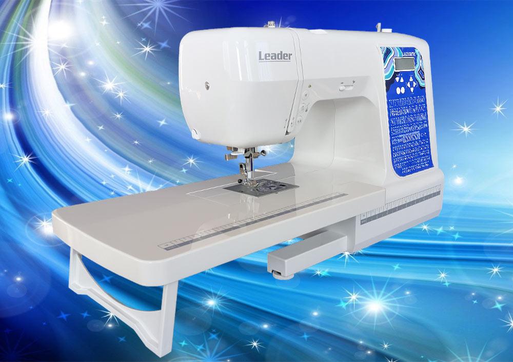 швейная машина LEADER LAZURITE лазурная