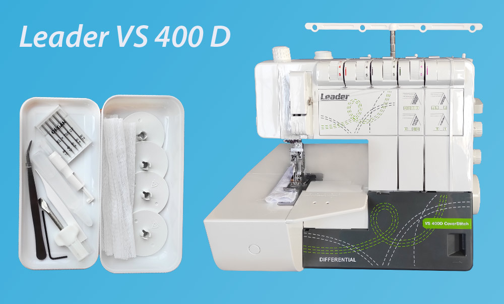 Распошивалка Leader VS 400 комплектация