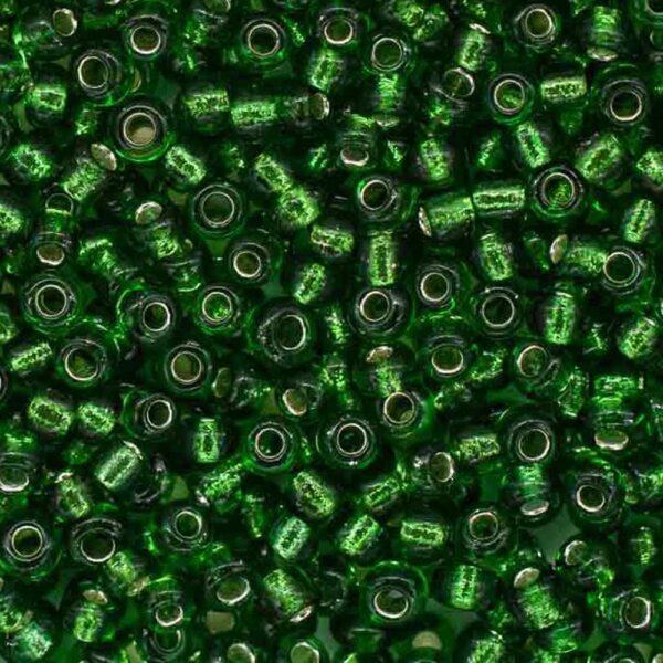Бисер-круглый-прозрачный-зеленый-27B-размер-6