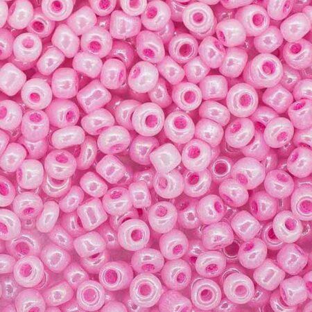 Бисер-круглый-светло-розовый-жемчужный-145-размер-6